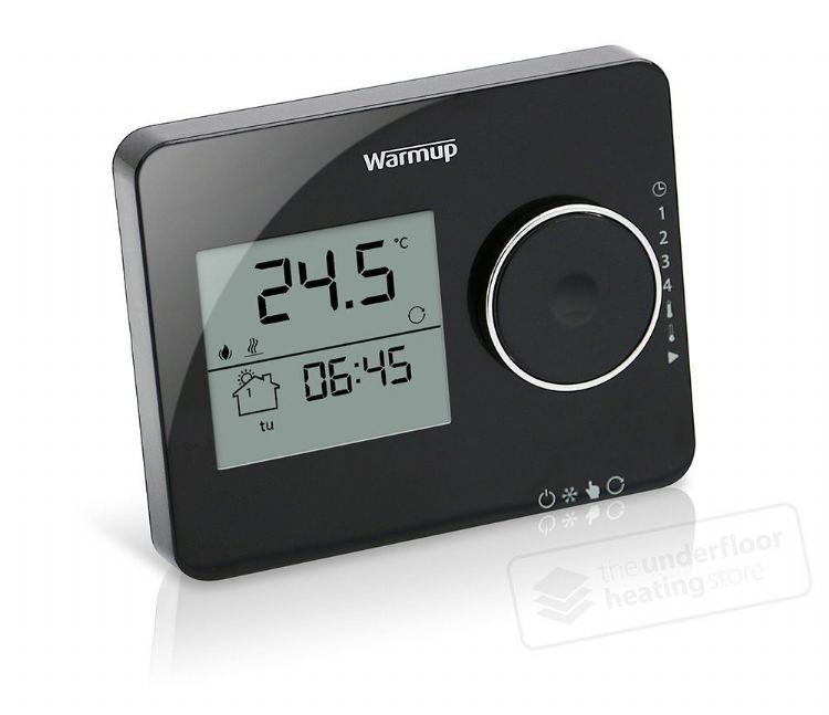 Warmup - Tempo Piano Black Thermostat